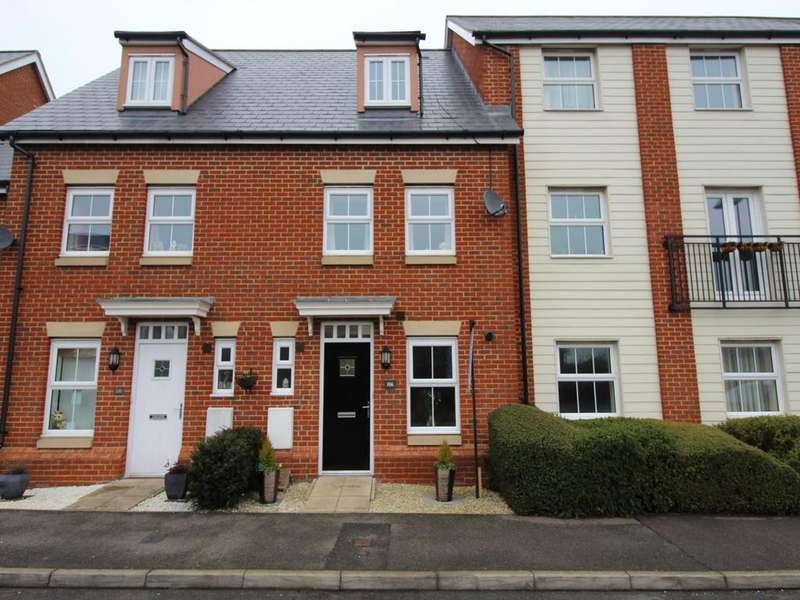 3 Bedrooms Terraced House for sale in Holst Avenue, Witham, Essex, CM8
