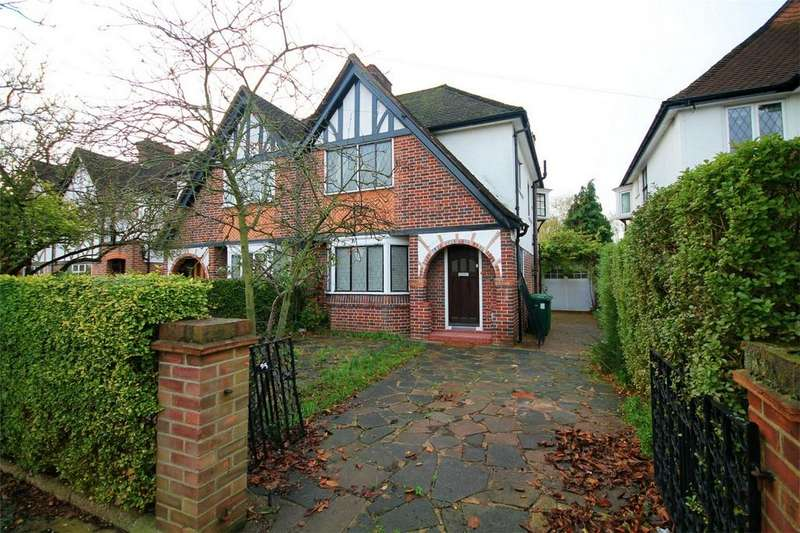 3 Bedrooms Semi Detached House for sale in Meadway, Ashford, Surrey
