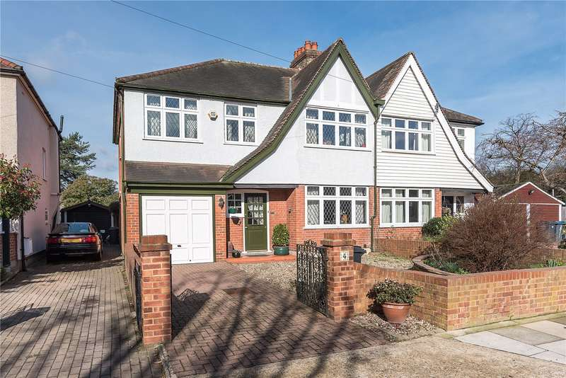 4 Bedrooms Semi Detached House for sale in Dysart Avenue, Kingston upon Thames, KT2