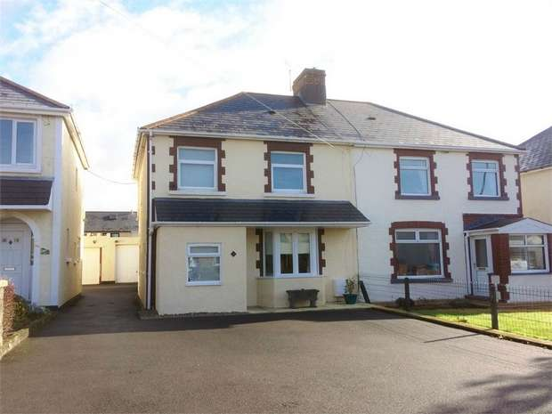3 Bedrooms Semi Detached House for sale in Litchard Cross, Bridgend, Bridgend, Mid Glamorgan