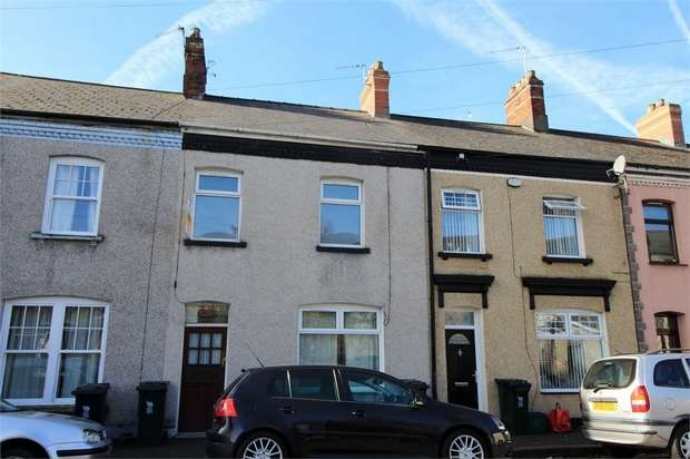 2 Bedrooms Terraced House for sale in Livingstone Place, Newport