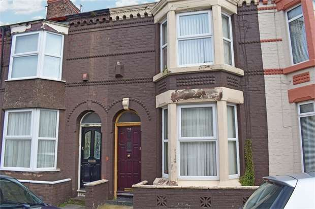 3 Bedrooms Terraced House for sale in Olney Street, Liverpool, Merseyside