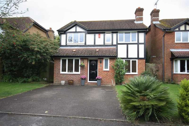 4 Bedrooms Detached House for sale in Templecombe Road, Eastleigh