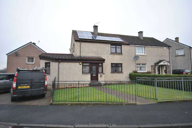 4 Bedrooms Semi Detached House for sale in McDonald Avenue, Johnstone, PA5 0ET