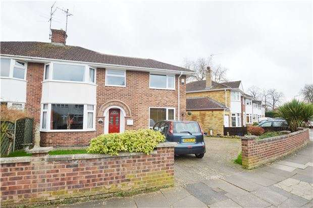 3 Bedrooms Semi Detached House for sale in Hayes Road, CHELTENHAM, Gloucestershire, GL52 2QF