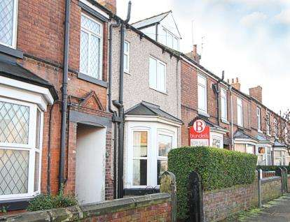 3 Bedrooms Terraced House for sale in Wharf Lane, Chesterfield, Derbyshire