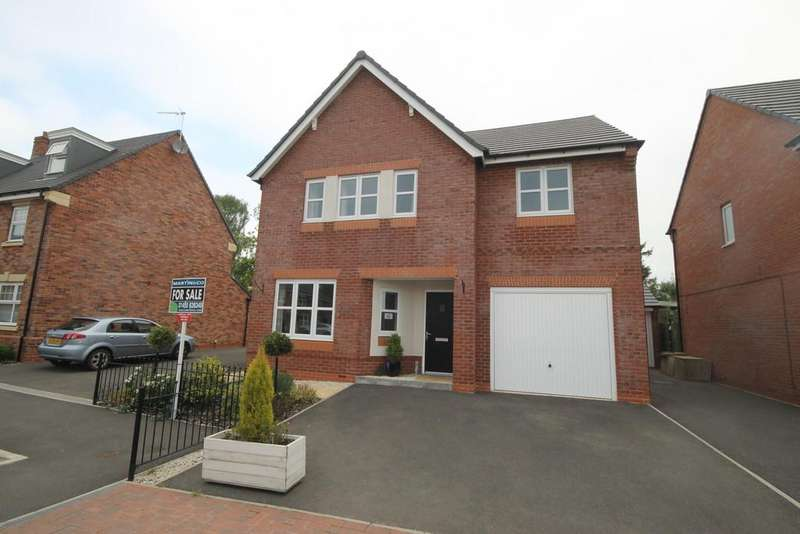 4 Bedrooms Detached House for sale in Yeoman Close, Hinckley
