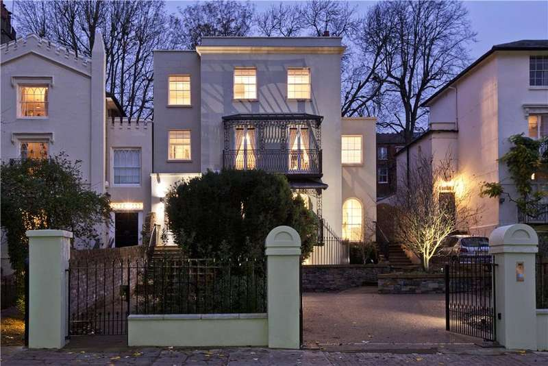 6 Bedrooms Detached House for sale in Downshire Hill, Hampstead, London, NW3