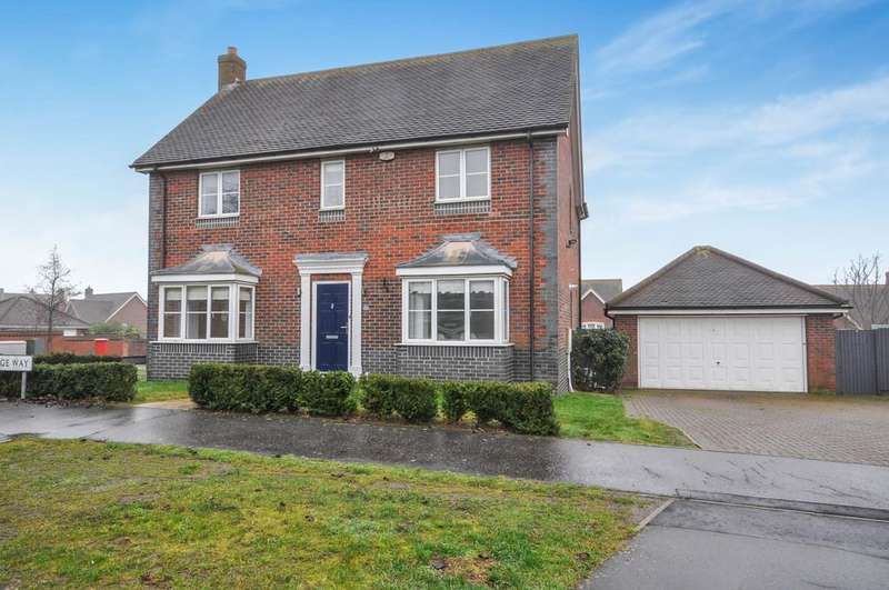 4 Bedrooms Detached House for sale in Partridge Way, Stanway, West Colchester
