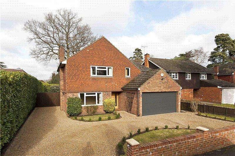 4 Bedrooms Detached House for sale in Oatlands Avenue, Weybridge, Surrey, KT13