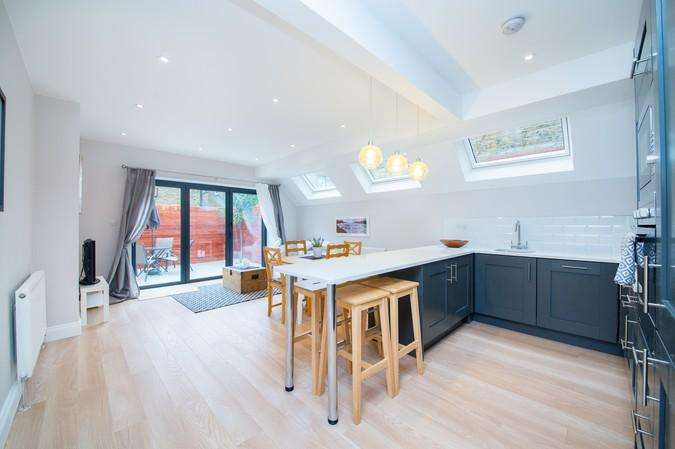 2 Bedrooms Flat for sale in Parfrey Street, Hammersmith