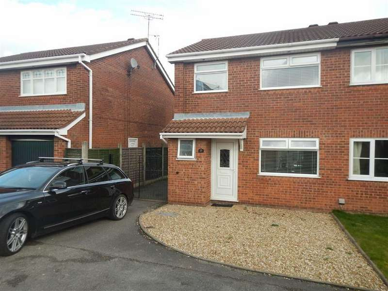 3 Bedrooms Semi Detached House for sale in Blackthorn Grove, Crowhill, Nuneaton, Warwickshire, CV11