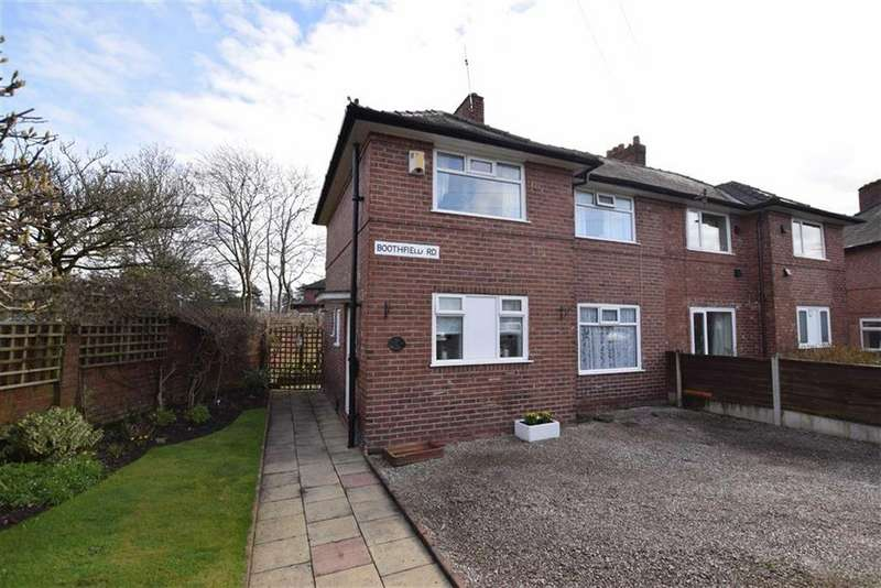 3 Bedrooms Semi Detached House for sale in Boothfield Road, Sharston, M22