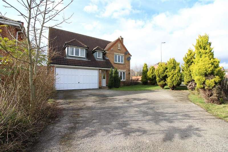 4 Bedrooms Detached House for sale in Fenwick Road, Scartho Top, Scartho, Grimsby