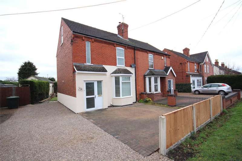 3 Bedrooms Semi Detached House for sale in Newark Road, North Hykeham, LN6