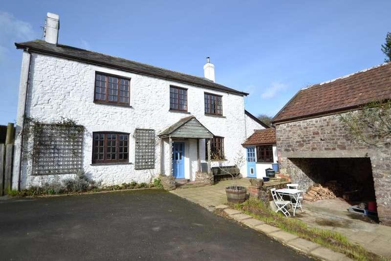 4 Bedrooms Detached House for sale in Burrington, Umberleigh