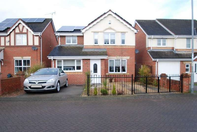4 Bedrooms Detached House for sale in Leyfield Place, Wombwell S73