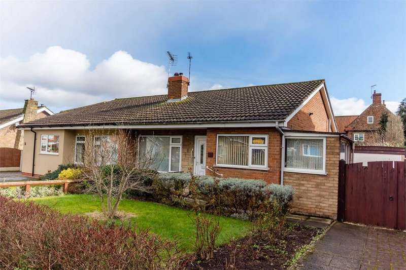 2 Bedrooms Semi Detached Bungalow for sale in Hawthorn Drive, Barlby, SELBY, North Yorkshire