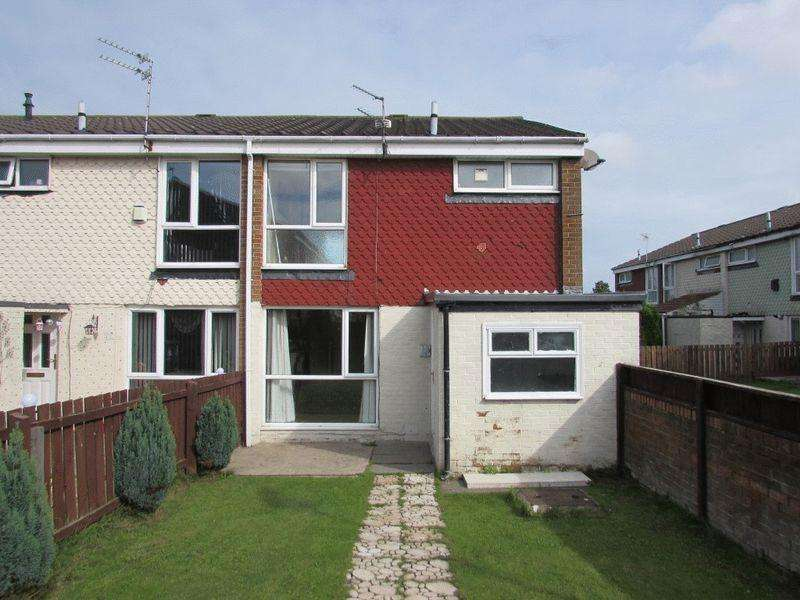 3 Bedrooms End Of Terrace House for sale in Bodmin Close, Wallsend - Three Bedroom, End Terrace House