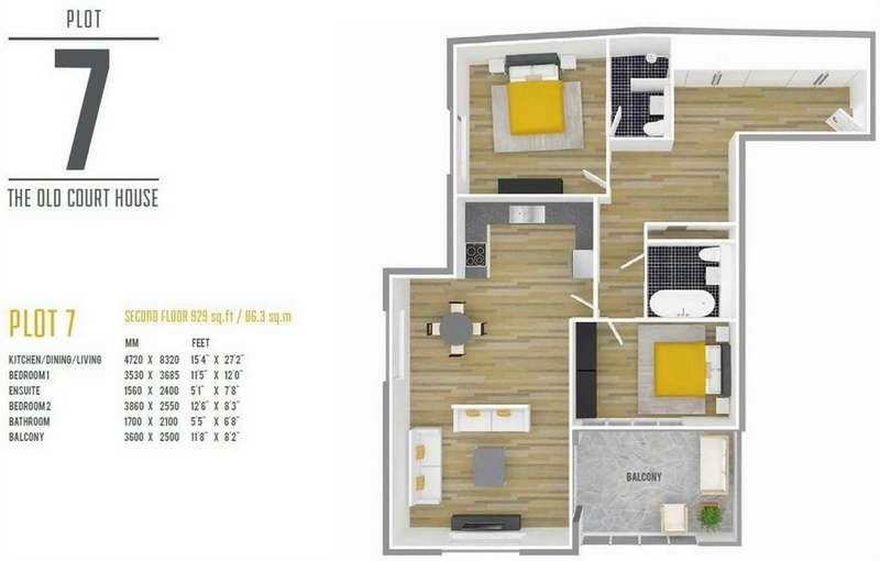 2 Bedrooms Flat for sale in 7 The Old Court House, Star Lane, Epping, Essex