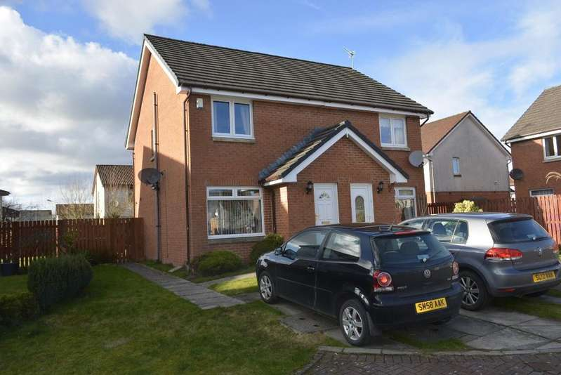 2 Bedrooms Semi Detached House for sale in Alexander McLeod Place, Fallin, Stirling, FK7 7HP