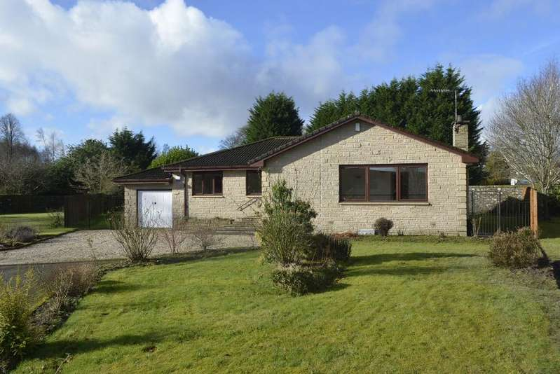3 Bedrooms Detached Bungalow for sale in Deanston Gardens, Deanston, Doune, FK16 6AZ