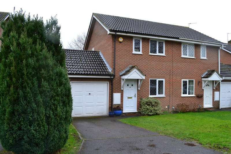 2 Bedrooms Semi Detached House for sale in Bourne Close, Calcot, Reading RG31