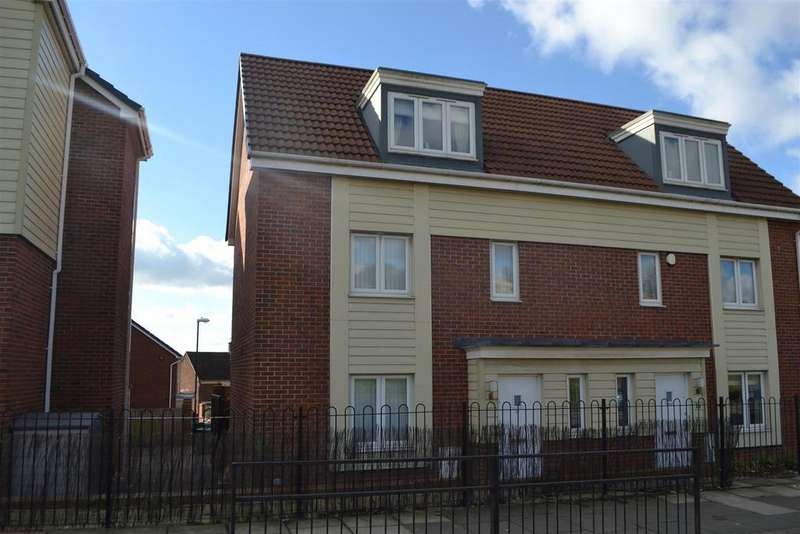 3 Bedrooms Town House for sale in Swan Court, Hylton Castle, Sunderland