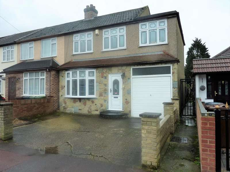 3 Bedrooms Semi Detached House for sale in Mayswood Gardens, Dagenham RM10