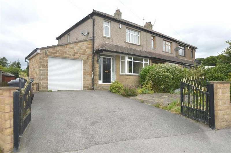 3 Bedrooms End Of Terrace House for sale in Greenland Avenue, Queensbury BD13, Queensbury Bradford