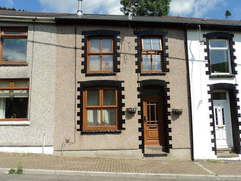 2 Bedrooms Terraced House for sale in Sunnyside, Ogmore Vale, Bridgend. CF32 7AW