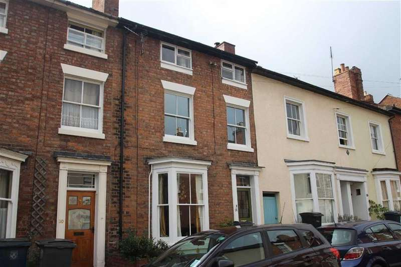 4 Bedrooms Terraced House for sale in Albert Street, Castlefields, Shrewsbury