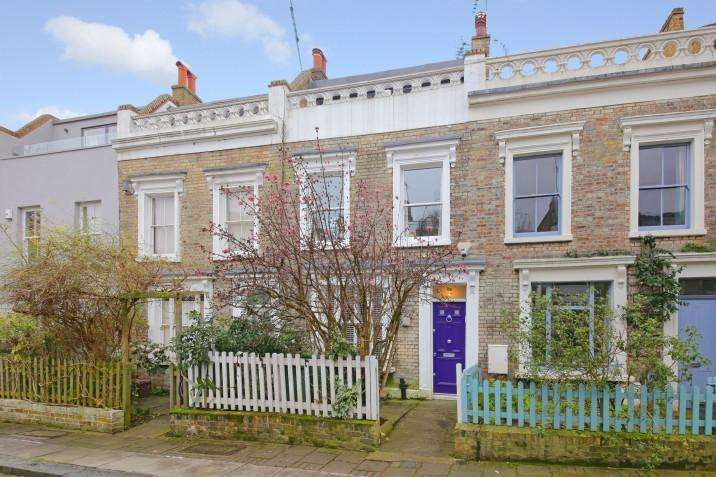 4 Bedrooms Terraced House for sale in Quadrant Grove, NW5