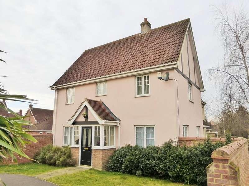 3 Bedrooms Link Detached House for sale in Chapel Break, Norwich
