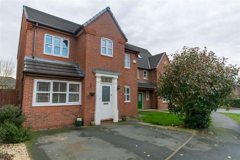 4 Bedrooms Detached House for sale in Tavington Road, Halewood, Liverpool
