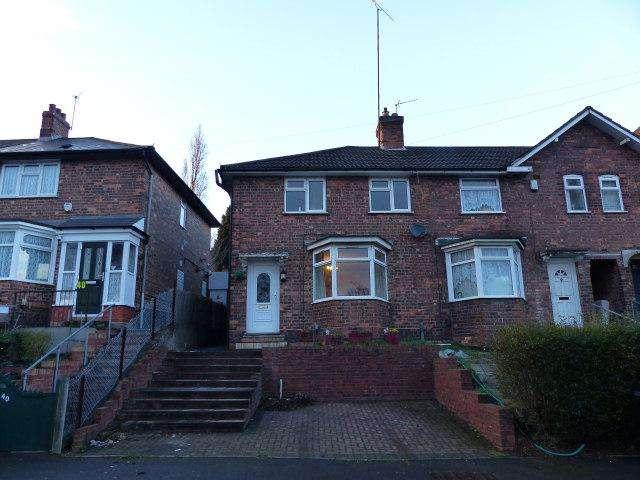 3 Bedrooms End Of Terrace House for sale in Hawkesyard Road,Erdington,Birmingham