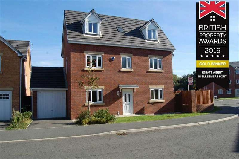 4 Bedrooms Detached House for sale in Rosswood Road, Ellesmere Port