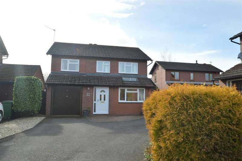 4 Bedrooms Detached House for sale in 8 Silverdale, Bicton Heath, Shrewsbury, SY3 5EY