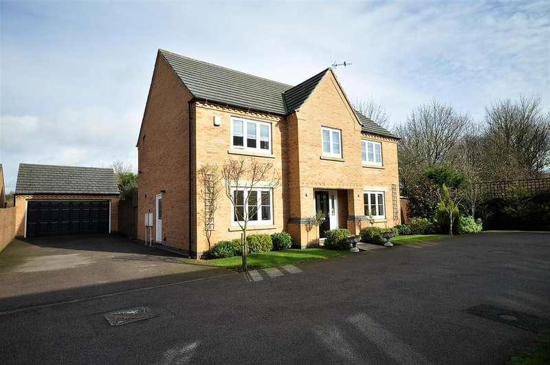 4 Bedrooms Detached House for sale in Campion Gardens, Kirkby-in-Ashfield