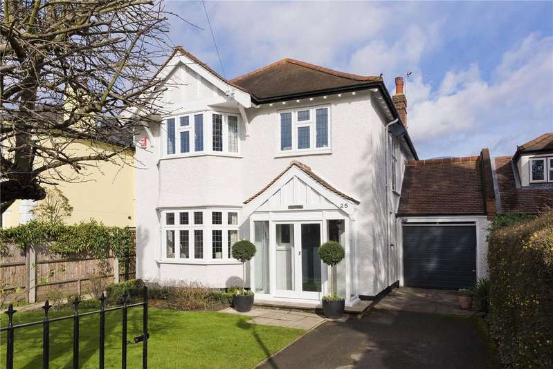 5 Bedrooms Link Detached House for sale in Arnison Road, East Molesey, Surrey, KT8
