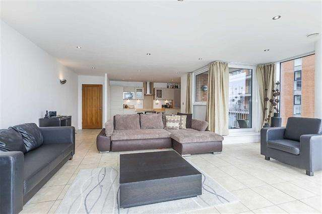 2 Bedrooms Flat for sale in Balearic Apartments, 15 Western Gateway, London