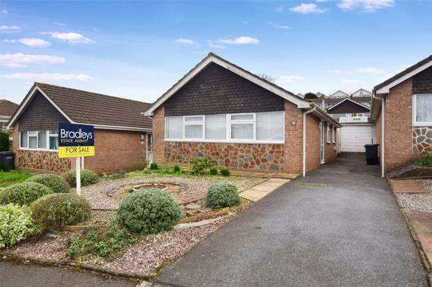 2 Bedrooms Detached Bungalow for sale in Harbourne Avenue, Roselands, Paignton, Devon