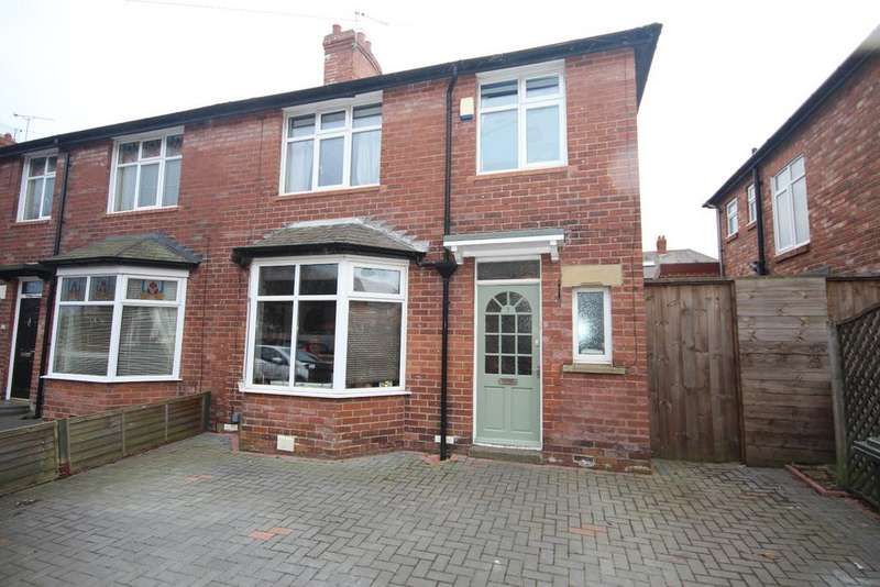 3 Bedrooms Semi Detached House for sale in St Pauls Gardens, Whitley Bay, NE25