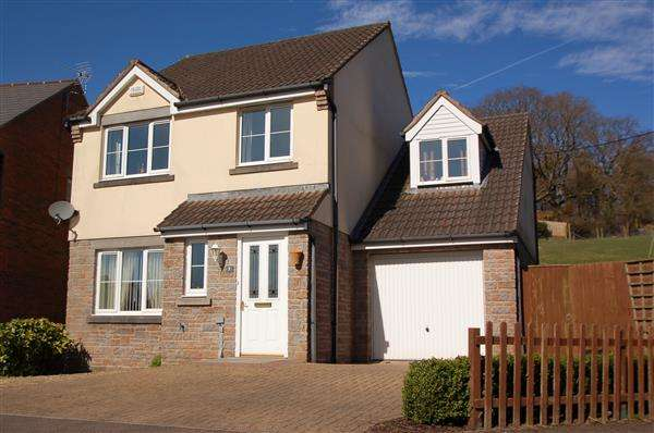 4 Bedrooms Detached House for sale in THE RUDGE, YORKLEY