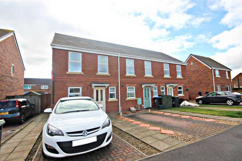 2 Bedrooms End Of Terrace House for sale in Mccormick Close, Bowburn, Durham