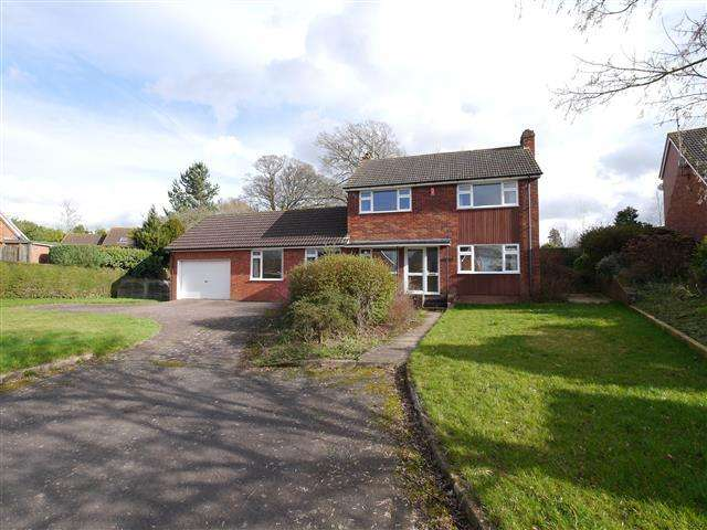 4 Bedrooms Detached House for sale in Elms Road, Wellington TA21