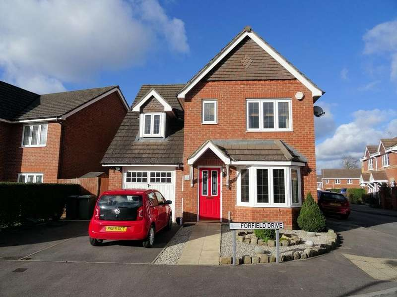 3 Bedrooms Detached House for sale in Forfield Drive, Beggarwood