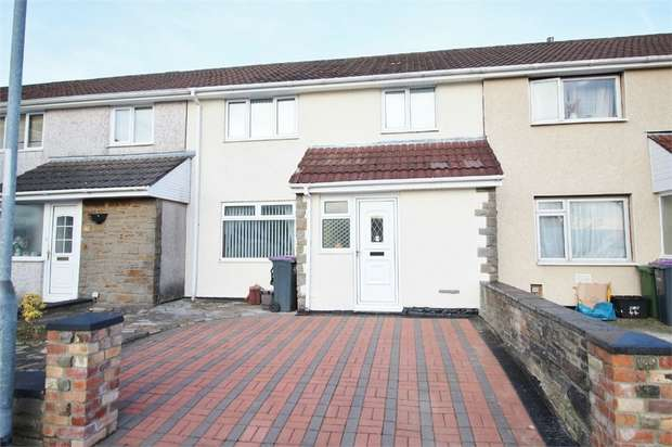 3 Bedrooms Terraced House for sale in Holly Lodge Road, Croesyceiliog, Cwmbran, Torfaen