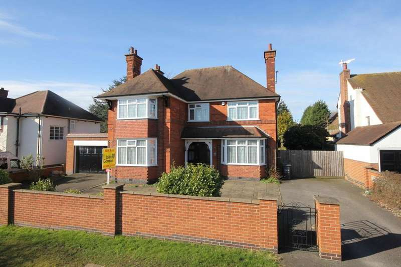 3 Bedrooms Detached House for sale in Seagrave Road, Sileby
