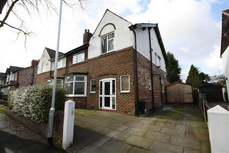 4 Bedrooms Semi Detached House for sale in Dunollie Road, Sale